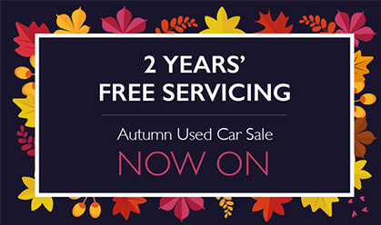 2 years' FREE servicing